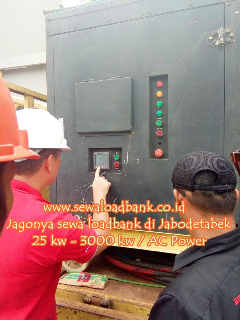 sewa loadbank , sewa genset , service genset 0813 1462 5146